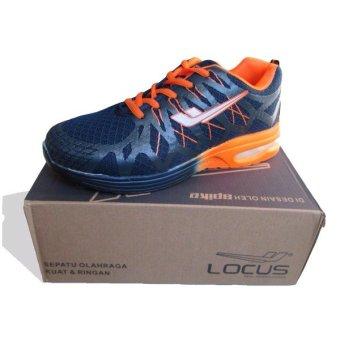 Spike Locus Sepatu Lari Pria TOG 5116 - Navy Orange