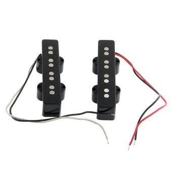 1 Set 4 String J Electric Bass Pickups Black 95 x 29 x 20mm - Intl