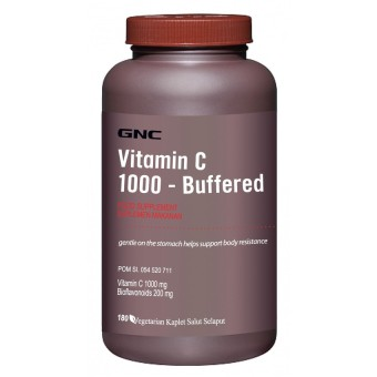 GNC Vitamin C 1000 - Buffered - 180 kaplet