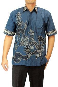 Batik Nandhut Hem Batik Pria 3799 - Biru