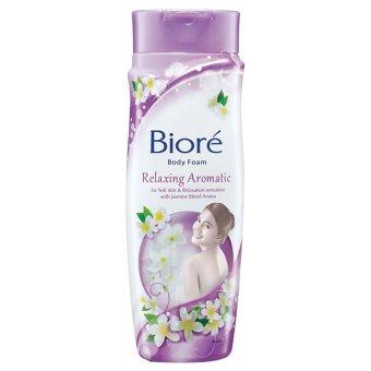 Biore Body Foam Relaxing Aromatic Bottle - 250 ml