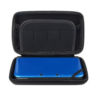 CHEER New Cool Black EVA Skin Carry Hard Case Bag Pouch For Nintendo 3DS LL (Intl)