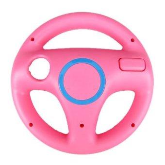 Generic Pink Steering Mario Kart Racing Wheel for Nintendo Wii Remote Game (Pink) (Intl)