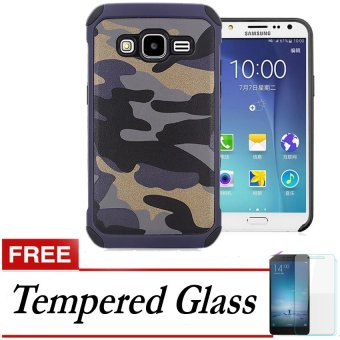 Harga Spesifikasi Case Army Protection Case for Samsung Galaxy J1 Ace + Gratis Tempered Glass -
