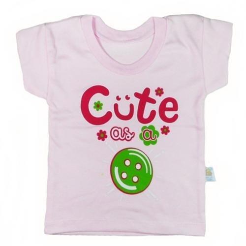 harga Hello Baby Kaos Oblong Bayi Motif Cute - Pink Lazada.co.id
