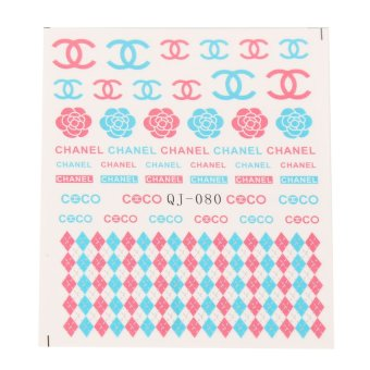 Watermark Nail Art Sticker Decal 08