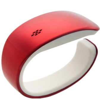 UNC Y02 Fashion Wearables Smart Bluetooth Bracelet-Red - Intl
