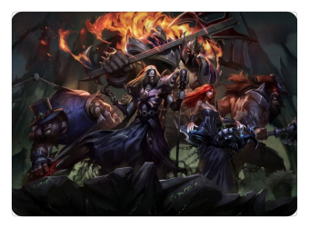 Pentakill Olaf mouse pad lol pad mouse League laptop mousepad HD print gaming padmouse gamer of Legends keyboard mouse mats - INTL