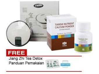 Tiens Pembesar Payudara Bokong MrP Apparatus MHCA + Susu Kalsium + Zinc + Gratis Panduan dan Teh Detox