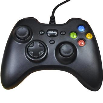 Yi He EJ-10 Vibration Game Controllers for Playstation (Black) (Intl)