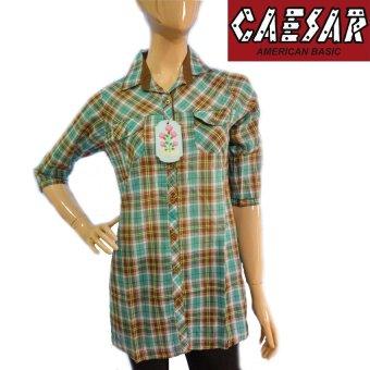Caesar Kemeja Lengan 3/4 1310 A - Kotak