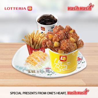Lotteria Chicken Gangjong Set