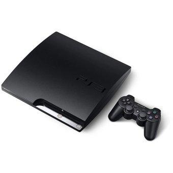 Sony Playstation 3 Slim 160GB ODE + HDD EXT 500GB - Hitam