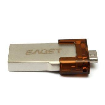 Brand EAGET USB3.0 high-speed mobile phone 16GB USB 3.0 Flash Drive - Intl