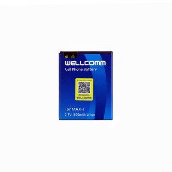 Wellcomm Baterai Double IC Andromax I terpercaya