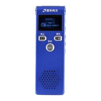 Tsinghua Tongfang TF-18 8GB Digital voice recorder with MP3 Biru