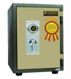 Daichiban Brankas Fire Resistant Safe DS - 20 CA (Without Alarm)
