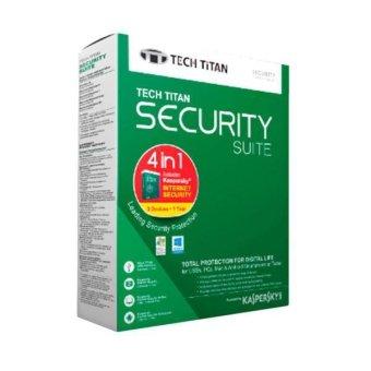 Kaspersky Internet Security 2016 3 User - Tech Titan Security Suite
