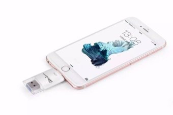 harga LYBALL 3in1 i-Flash iDrive device U Disk Memory 8 pin Lightning For iPhone 5 5S 6 6S iPad 4 5 Air Android Samsung HTC LG Sony 32GB Lazada.co.id