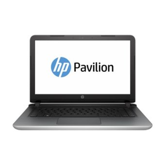 HP Pavilion Notebook - 14-ab129tx - Silver