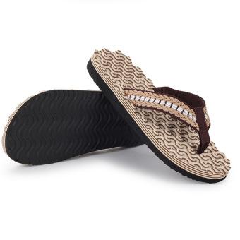 Men's Summer Home Slip Breathable Sandals(Khaki) - Intl