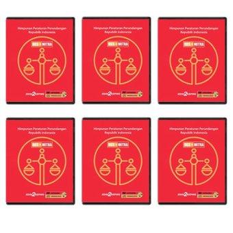 RGSMitra DVD Data Himpunan Peraturan Perundangan - 6 Pcs