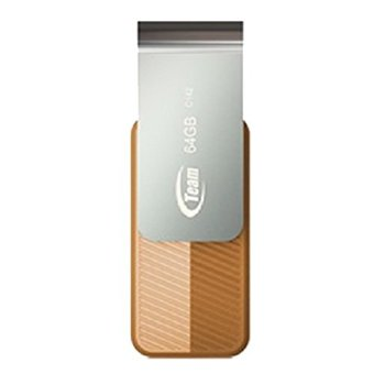 Team Flashdisk C142 64GB - Gold