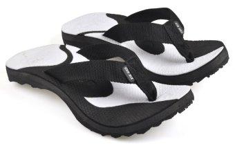 CBR SIX MJC 578 Sandal Gunung/ Hiking Pria - Webbing - Kuat - Putih-Hitam