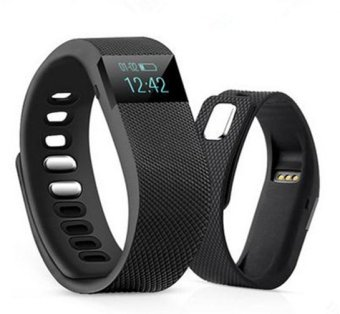 TW64 Smart Wristband Fitness Tracker for IOS/ Android (Black) (Intl)
