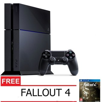 Sony Playstation 4 500GB - Jet Black + Gratis Fallout 4