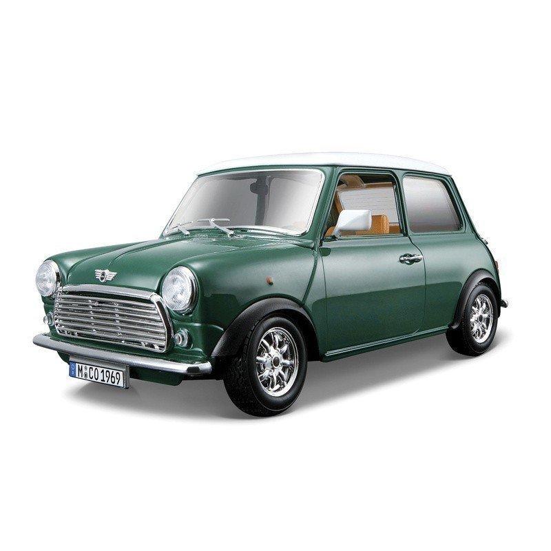 harga Bburago Diecast 1:18 - Mini Cooper (1969) - Hijau Lazada.co.id