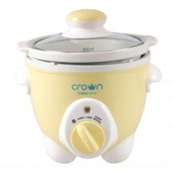 harga Crown Slow Cooker-Untuk Makanan bayi - kuning Lazada.co.id
