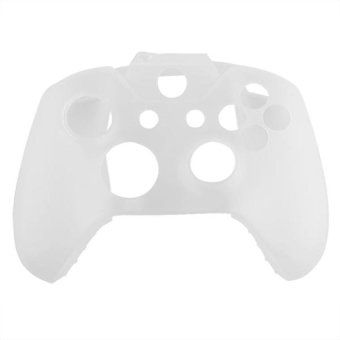 Generic Soft Silicone Gel Protective Skin for XBOX ONE Controller - White