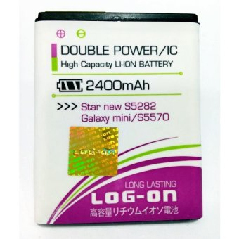 Log On Battery Double Power For Samsung Galaxy Star New / Galaxy Mini terpercaya