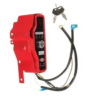 New Red Ignition Switch Control Box with 2 Keys for Honda GX340 11HP GX390 13HP (Intl)
