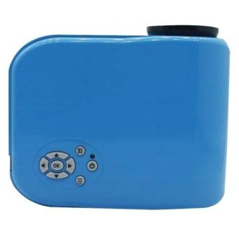 Mini Projector for Video Games TV Movie Blue (Intl)