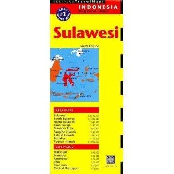 Periplus - Sulawesi Travel Map Sixth Edition