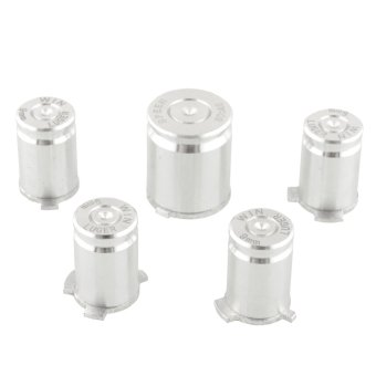 Aukey Metal ABXY Bullet Buttons for Microsoft Xbox 360 Controller
