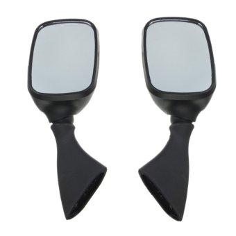 Black Side Rear View Mirrors For SUZUKI GSX1300R HAYABUSA GSXR1000 600 GSX-R750- Intl
