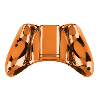 Wireless Controller Shell Case Bumper Thumbsticks Buttons Game for Xbox 360 (Orange) (Intl)