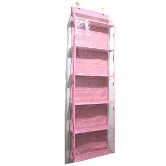 Kayla Org Hanging Bag Organizer Zipper Pink Harga Murah   image 654453 2 product
