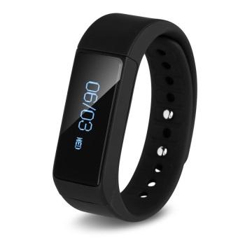 I5 Plus Smart Bracelet Bluetooth 4.0 Waterproof Touch Screen Fitness Tracker Health Wristband Sleep Monitor Smart Watch(Black) - Intl