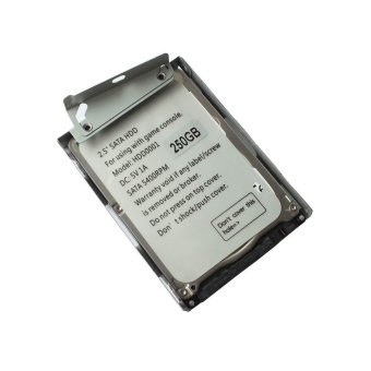 250GB HDD Hard Disk Drive + Mount Bracket for Sony PS3 Super Slim CECH-400X (Intl)