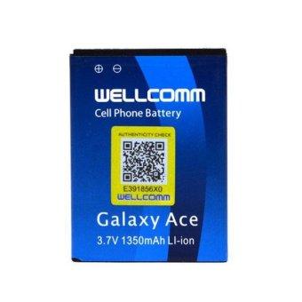 Wellcomm Battery Double IC Untuk Samsung Galaxy ACE S5830 terpercaya