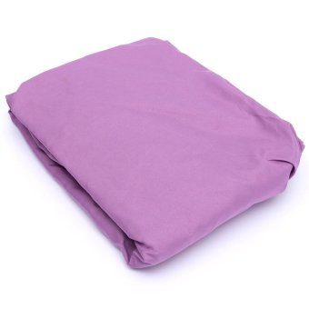 harga Coverlet Sheet Cotton Solid Color Bed Cover 120x200cm (Purple) Lazada.co.id