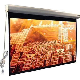 Brite Screen Motorized MR-2424 - Putih