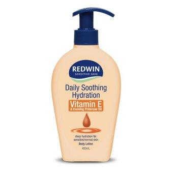 Redwin Vitamin E Cream With Evening Primrose Oil - Body Lotion - 400ml