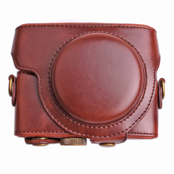 PU Leather Camera Case for Sony DCS-RX100 RX100II RX100III RX100IV…
