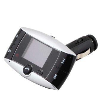 Wireless Bluetooth FM Transmitter Modulator Car Kit MP3 Player SD USB LCD Remote (Intl)
