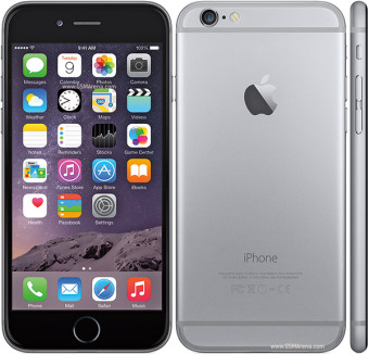 Apple - Iphone 6 - 16GB - Abu abu